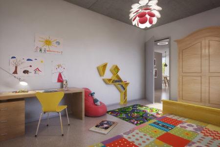 Visualisierung Kinderzimmer